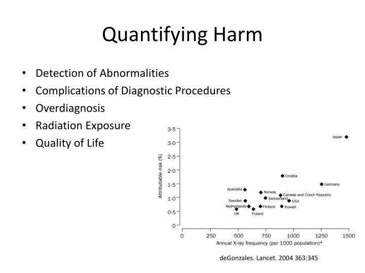 Quantifying Harm
