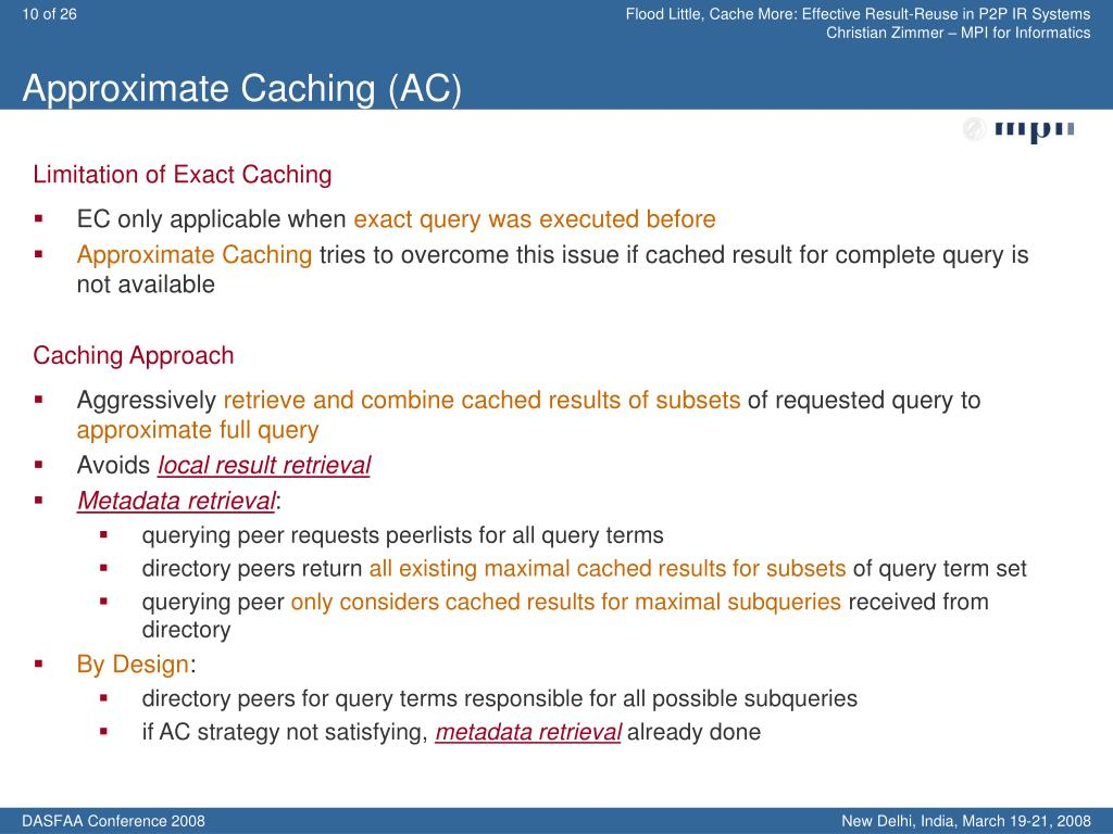 Approximate Caching (AC)