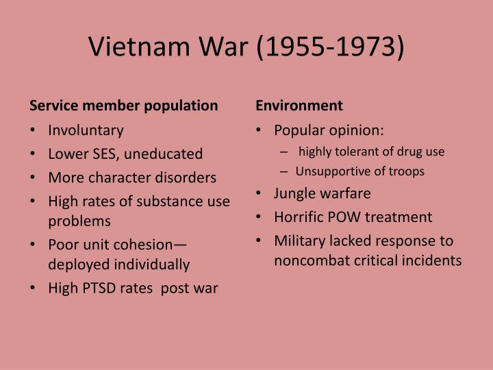 Vietnam War (1955-1973)
