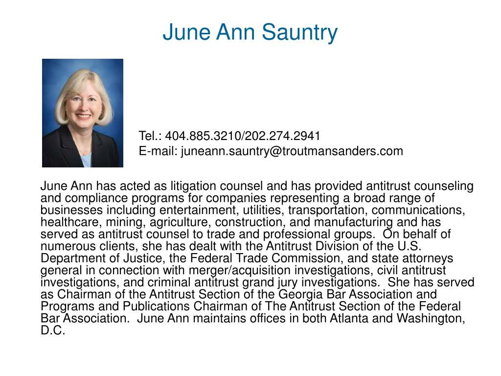 June Ann Sauntry