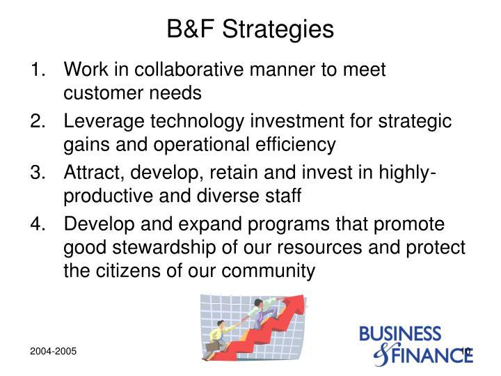 B&F Strategies