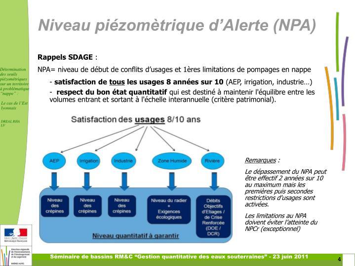 """Séminaire de bassins RM&C """"Gestion quantitative des eaux souterraines"""" - 23 juin 2011"""