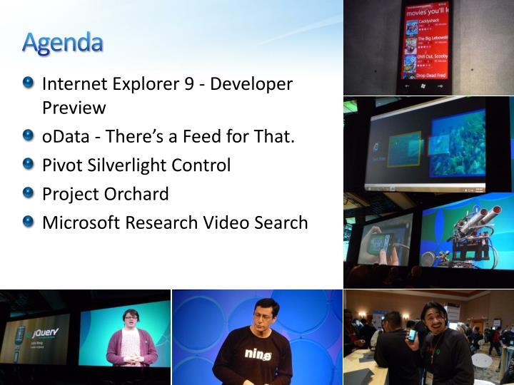 Internet Explorer 9 - Developer Preview