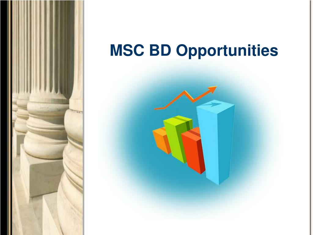 MSC BD Opportunities