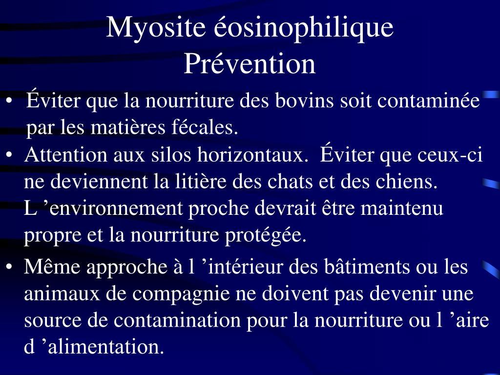 Myosite éosinophilique