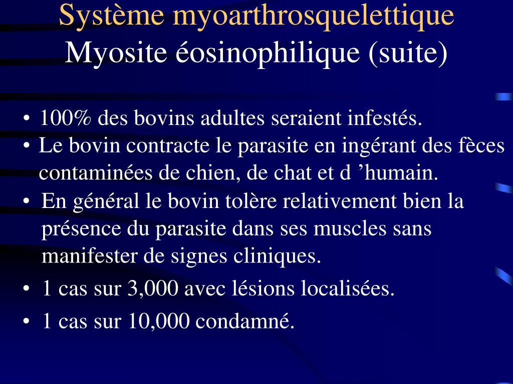 Système myoarthrosquelettique