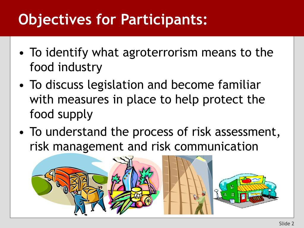 Objectives for Participants: