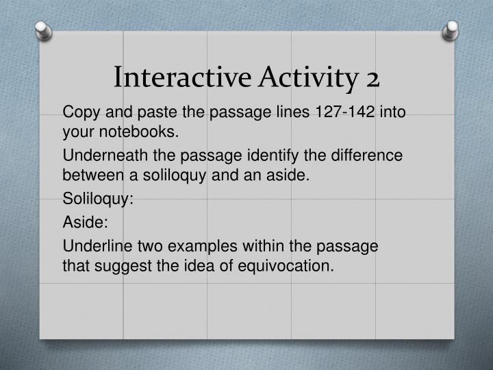 Interactive Activity 2