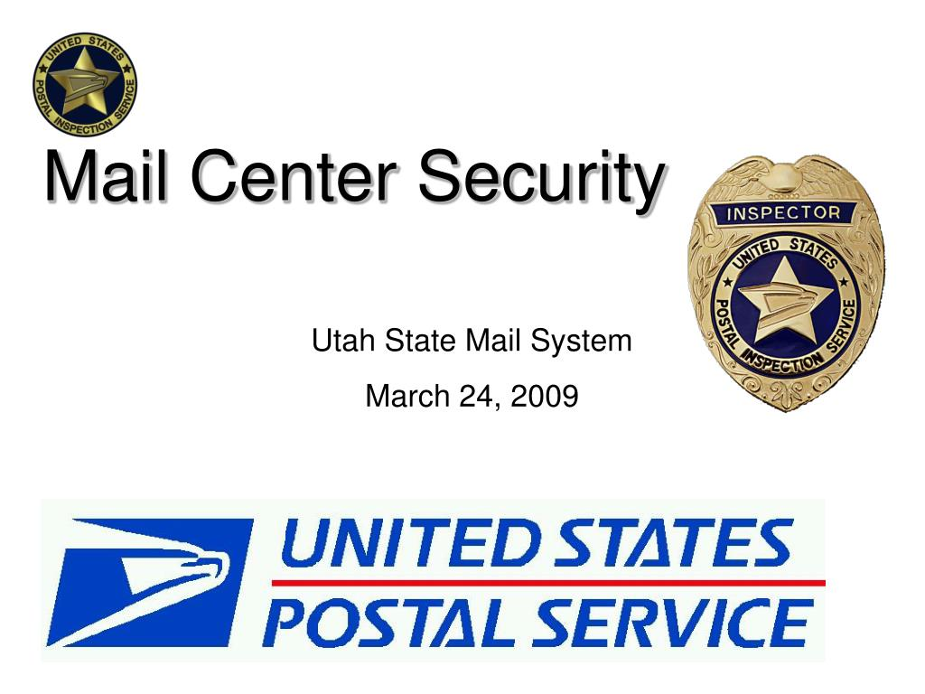 Mail Center Security