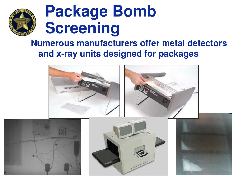 Package Bomb Screening