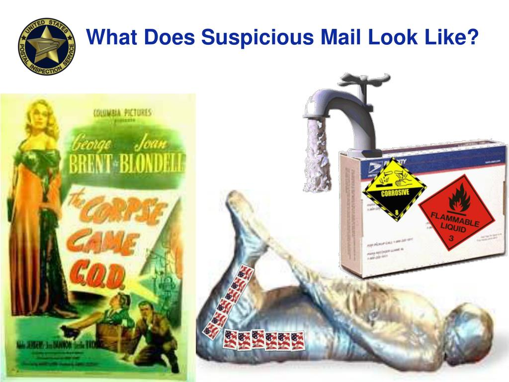 What Does Suspicious Mail Look Like?
