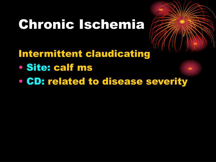 Chronic Ischemia
