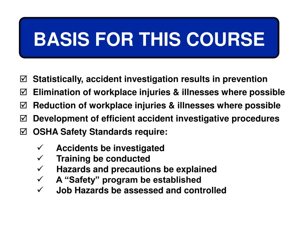 BASIS FOR THIS COURSE