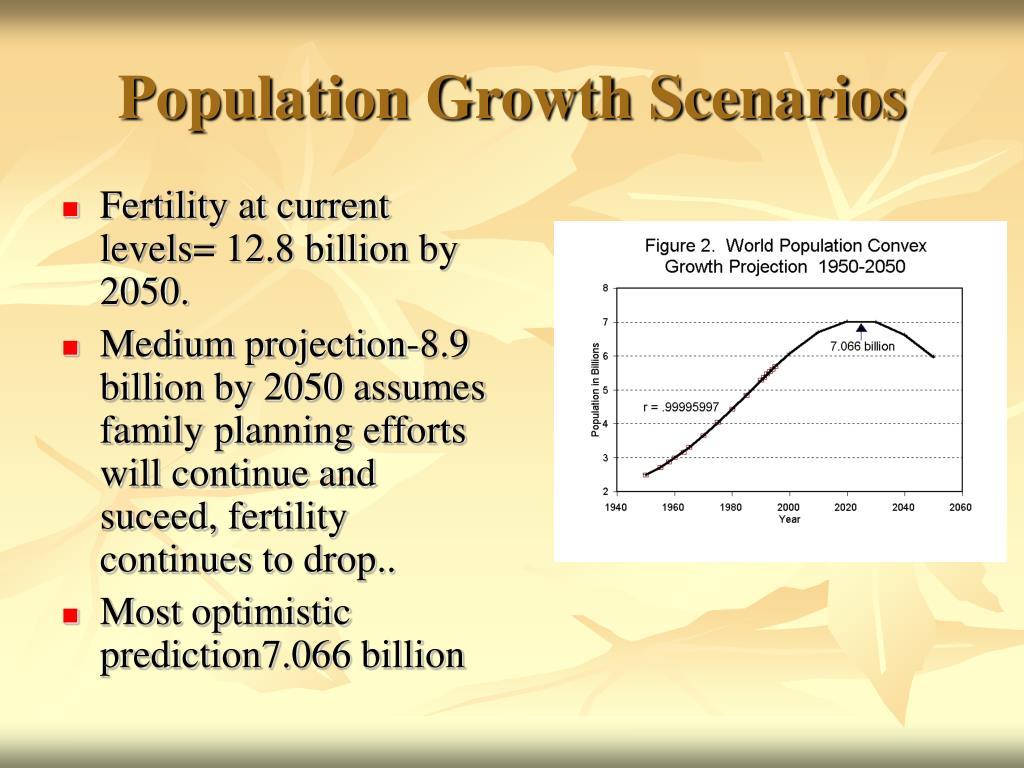 Population Growth Scenarios