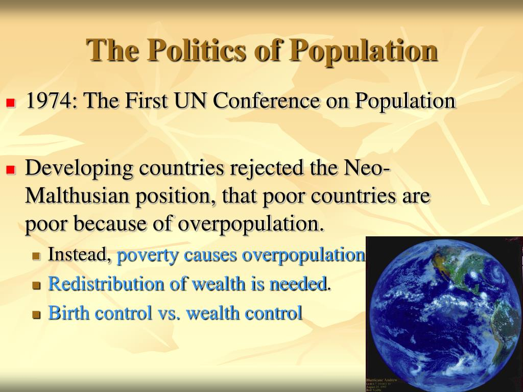 The Politics of Population
