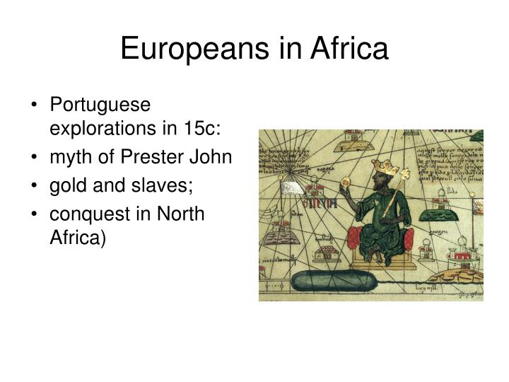 Europeans in africa