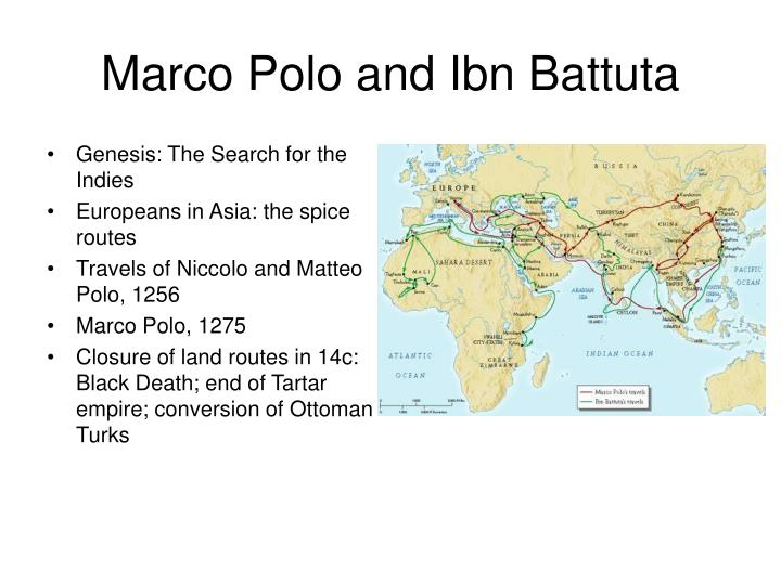 Marco polo and ibn battuta