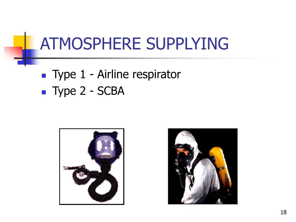 ATMOSPHERE SUPPLYING