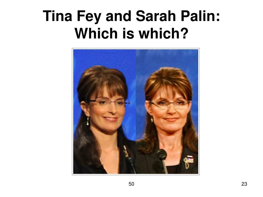 Tina Fey and Sarah Palin: