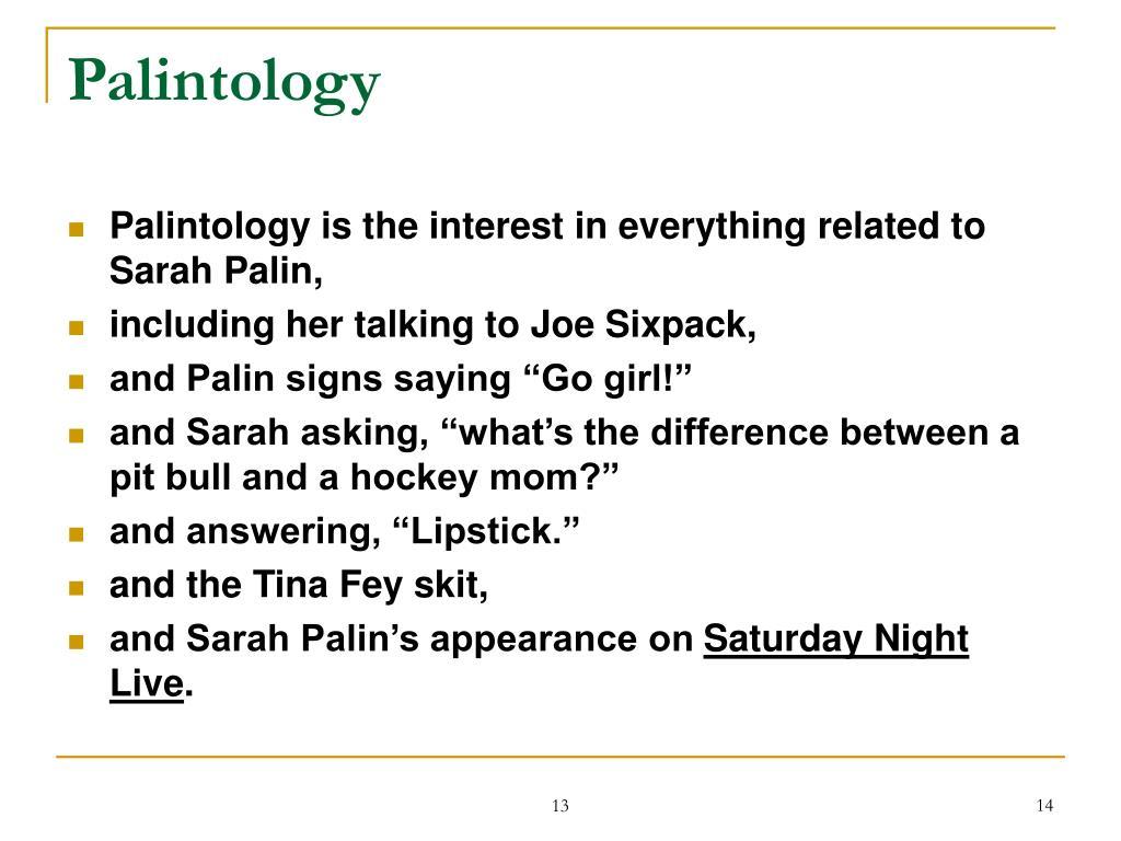 Palintology