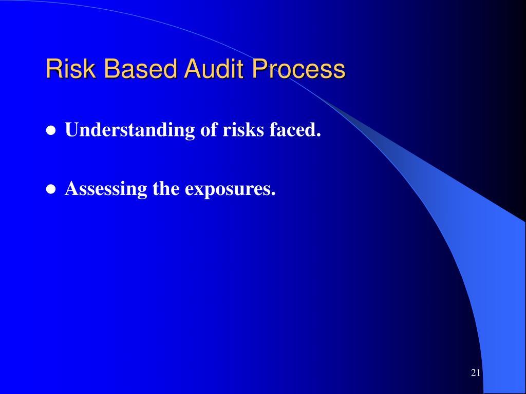 Risk Based Audit Process