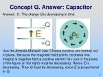 concept q answer capacitor