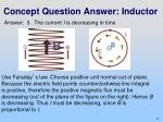 concept question answer inductor