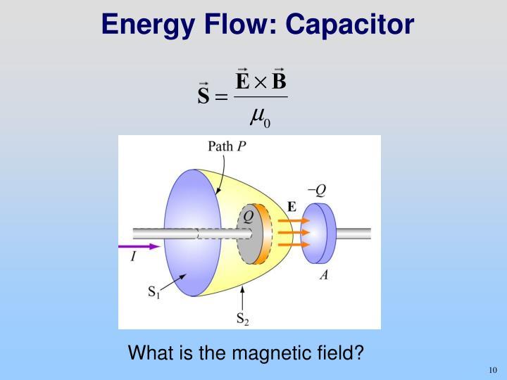 Energy Flow: Capacitor