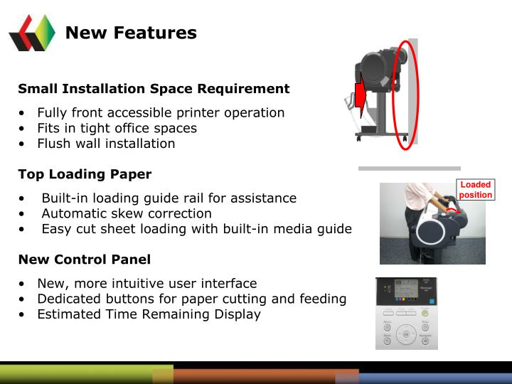 Small Installation Space Requirement