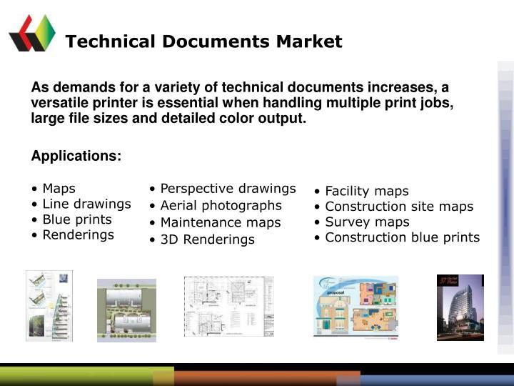 Technical Documents Market