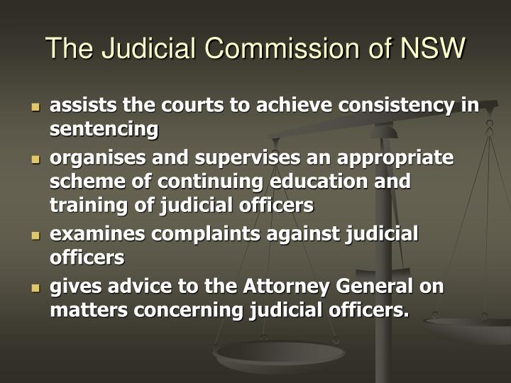 The Judicial Commission of NSW