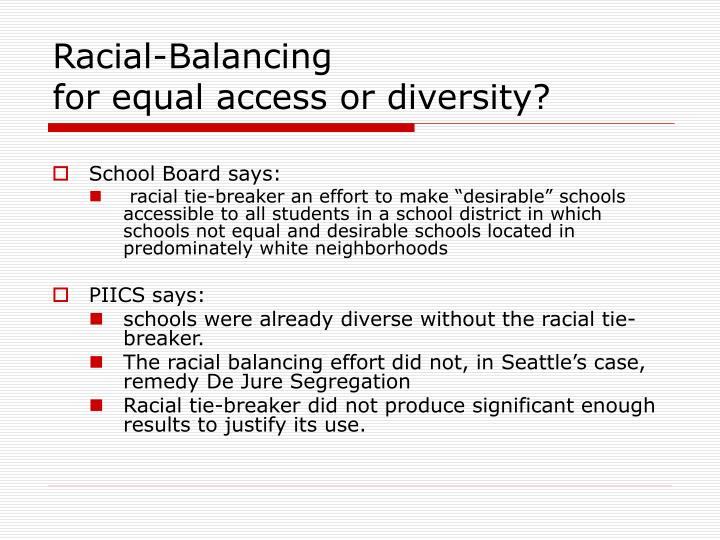 Racial-Balancing