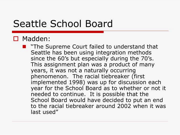 Seattle School Board