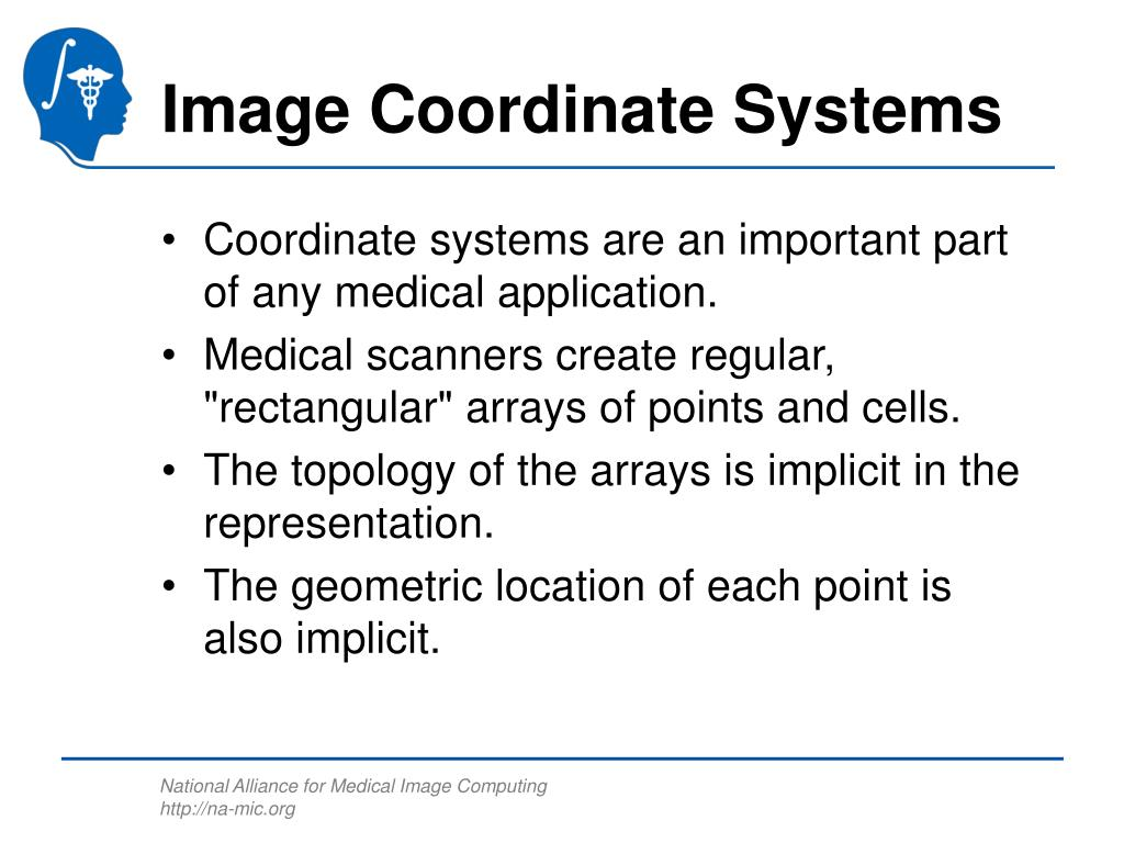 Image Coordinate Systems