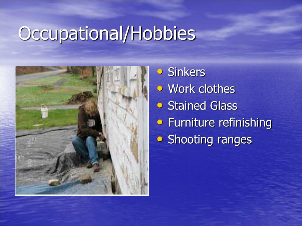 Occupational/Hobbies