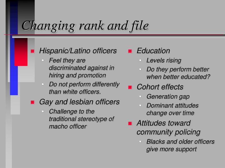 Hispanic/Latino officers