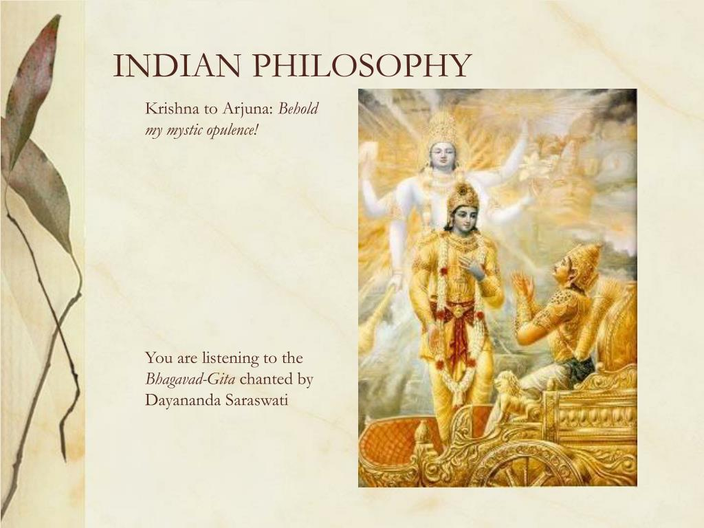 INDIAN PHILOSOPHY