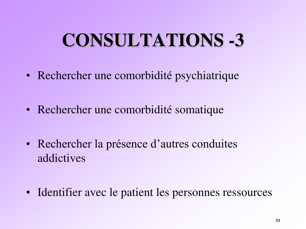 CONSULTATIONS -3