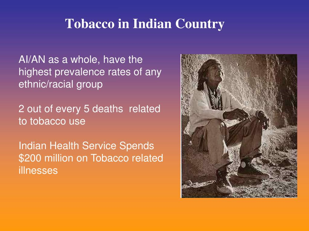 Tobacco in Indian Country