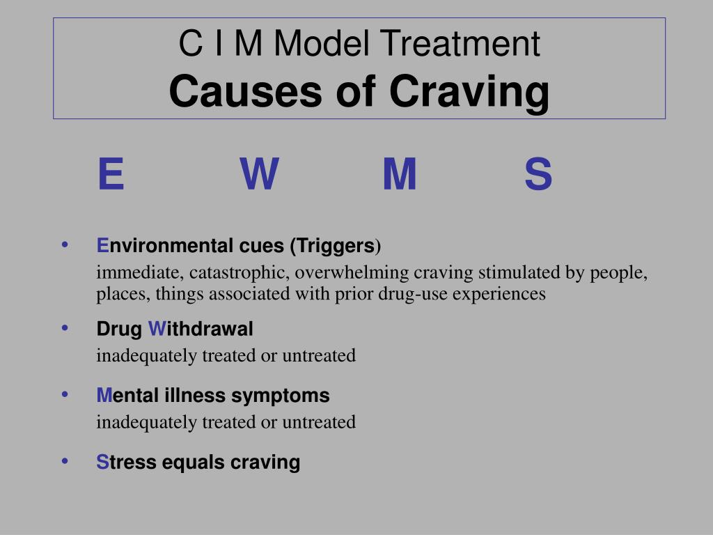 C I M Model Treatment