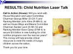 results child nutrition laser talk18