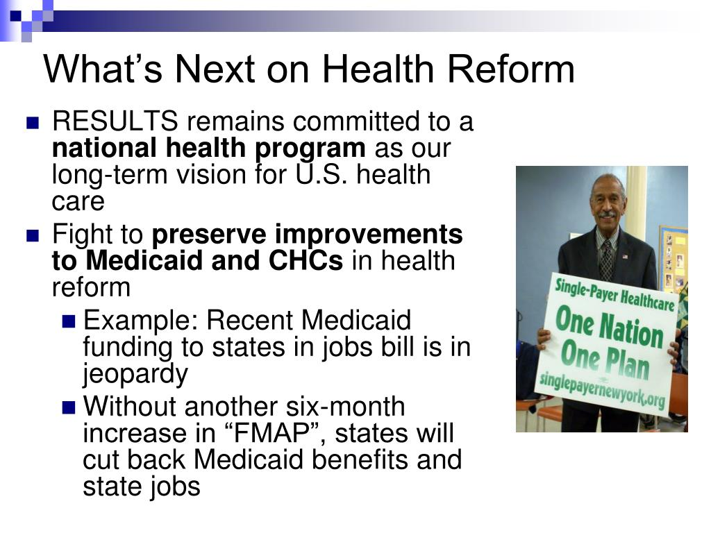 What's Next on Health Reform