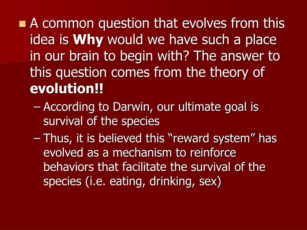 A common question that evolves from this idea is