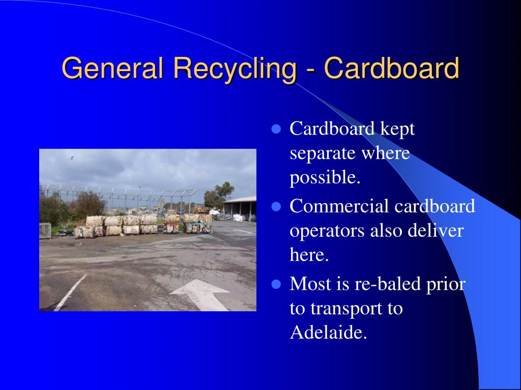 General Recycling - Cardboard