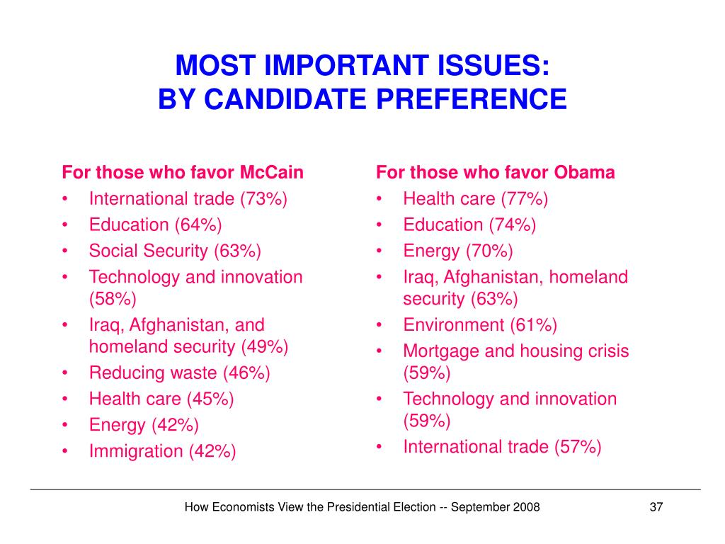 For those who favor McCain