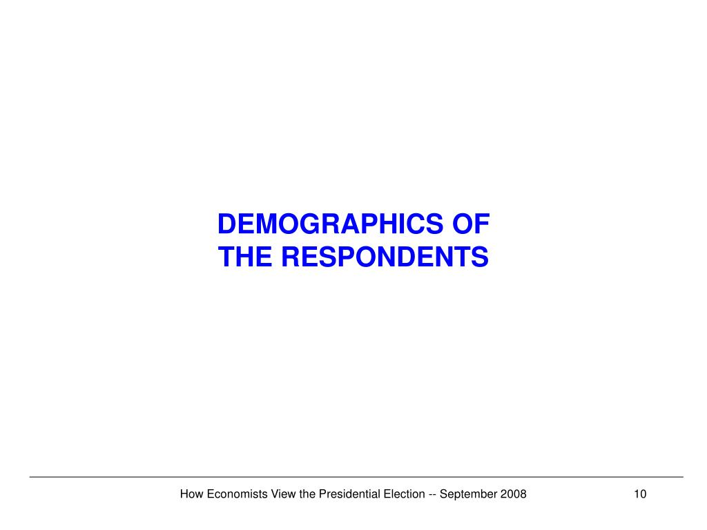 DEMOGRAPHICS OF