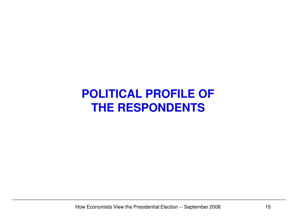 POLITICAL PROFILE OF