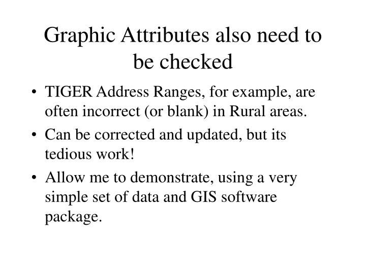 Graphic Attributes also need to be checked