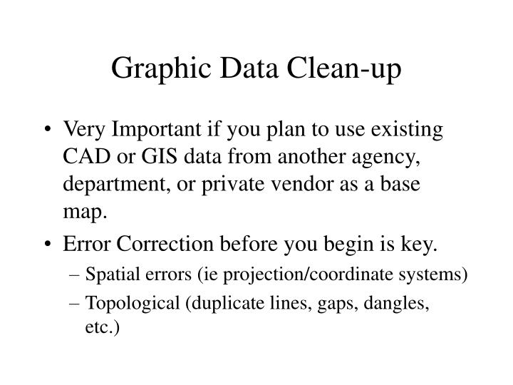 Graphic Data Clean-up