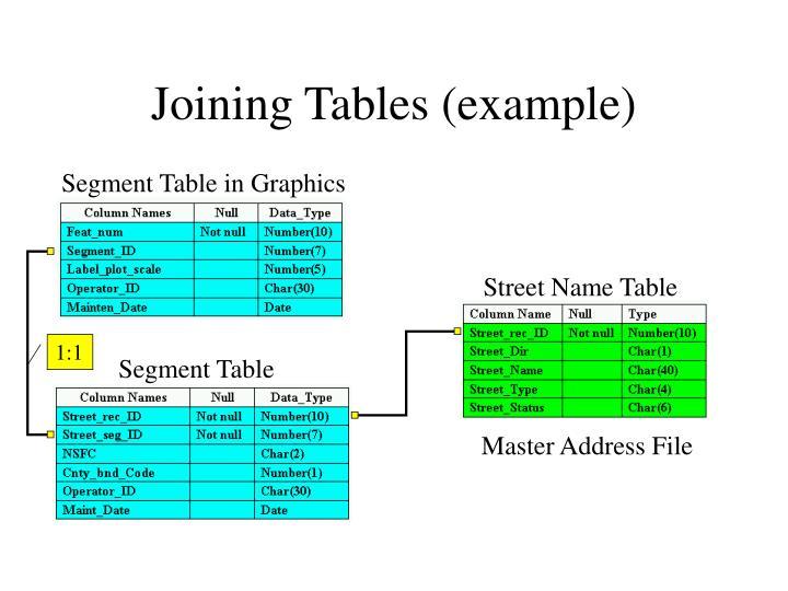 Segment Table in Graphics